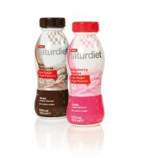 Naturdiet med mindre kolhydrater och mer protein – nu också som drickfärdiga shakes.