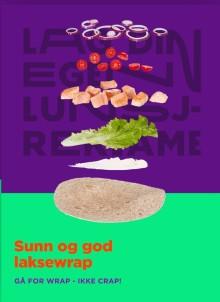 Laksewrap ble Norges beste digitale skolelunsj