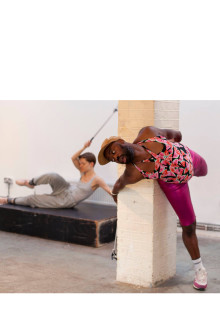 Performance-workshop 'Selfie Choreography' med Harold Offeh