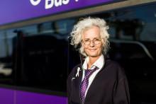 Nettbuss Bus4You stödjer Rosa Bandet