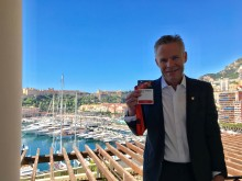 CEO Hans-Petter Mellerud in Monaco for the final of 'EY World Entrepreneur of The Year 2018 Award'