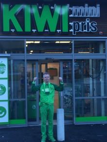 Bergen blir enda grønnere - åpner ny KIWI-butikk på Hylkje