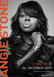 Soullegenden, Angie Stone, kommer til Store VEGA