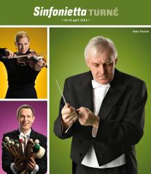 Unik turné med MSO Sinfonietta och Mats Rondin