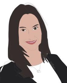 Aida Hadzialic, gymnasie- och kunskapslyftsminister, avslutningstalar på EdTech Sweden