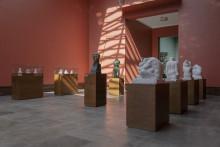 Tredimensjonale designgrep i den store Vigeland-utstillingen