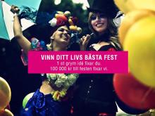 Vinn 100 000-kronorsfest med Comfort Hotel Stockholm