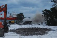 Veidekke spränger för nytt djupvattenintag vid kärnkraftverket i Oskarshamn