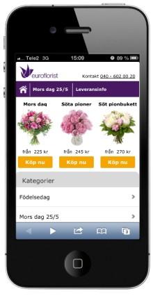 Blombud i mobilen ökar lavinartat