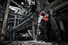 MILWAUKEE® LANSERAR MARKNADENS FÖRSTA 18V  5 KG SDS-MAX KOMBIHAMMARE