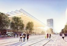 Wingårdhs vann idétävling om nytt stationsområde