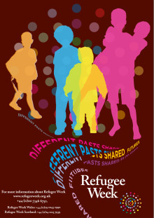 We are supporting the Refugee Week Celebrations 15-21 June