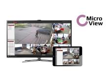 MicroView lancerer skræddersyet videoovervågnings-koncept til SMV og privatkunder