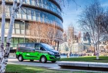Projekt zur Luftverbesserung: Ford Transit Custom Plug-In Hybrid läuft in Londoner Testflotte