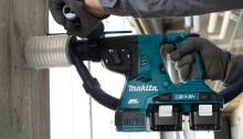 Makita lanserar 2 st 2x18V kombihammare på 26 mm