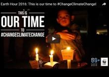 WWF Earth Hour 2016 - tillsammans för klimatet