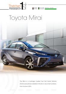 Thatcham 1st : Toyota Mirai