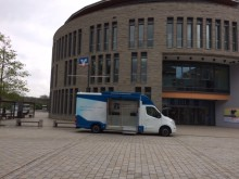 Beratungsmobil der Unabhängigen Patientenberatung kommt am 6. Februar nach Schwäbisch Hall.