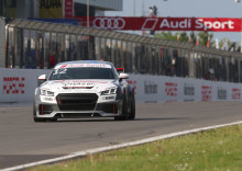Simon Larsson with impressive recovery in Audi Sport TT Cup