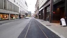 Oppgraderingen i Prinsens gate medfører betydelige endringer i trikkenettet fra mandag