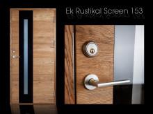 Ytterdörr Ek Rustikal Screen 153