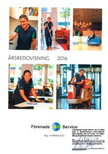 Förenade Service - Årsredovisning 2016