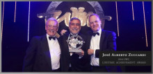 José Alberto Zuccardi tilldelas Lifetime Achievement Award av International Wine Challenge