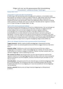 Frågor och svar om vår gemensamma fjärrvärmeledning