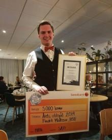 Halmstadbo utsedd till Årets eldsjäl vid Studentidrottsforum 2019