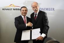 Renault og Mercedes i frugtbart samarbejde