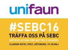 Unifaun på Scandinavian E-business Camp (SEBC) 2016