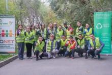 Экосубботник в Казахстане с участием генерального директора QNET Малу Калуза