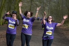 ​Cheshire runners raise over £12,000 for the Stroke Association