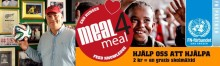 O'Learys startar en välgörenhetsauktion till förmån för Meal4Meal.