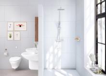 Gustavsberg lanseeraa laadukkaat sadesuihkut rentouttaviin kylpyhetkiin