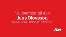 Aon har rekryterat Jens Olovsson