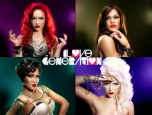 """Kända popgruppen """"Love Generation"""" laddar inför Melodifestivalen 2011 med en BrilliantSmile-tandblekning."""