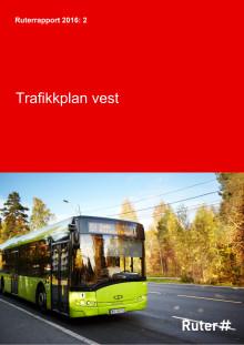 Trafikkplan vest