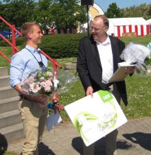 Bjarne Bro fra Billund Vand A/S hyldet med Vandmiljøprisen