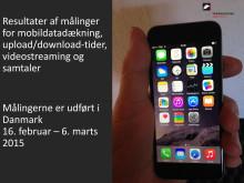 Mobilnetværk rapport 2015 - Teknologisk Institut