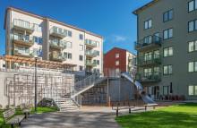 Familjebostäder får pris för konsten i kv Giggen i Tallkrogen