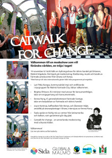 Program Catwalk for Change 19/11-2011