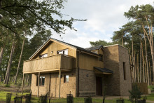 All lodges and apartments complete at Center Parcs Longford Forest