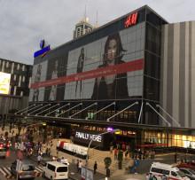 H&M-invigning i Manila.
