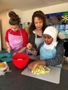 Ungdomar skapar matglädje på Hasselbacken