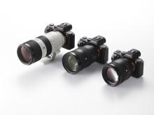 Sony lance sa nouvelle gamme d'objectifs interchangeables G MasterTM