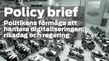 Riksdagspolitikens hantering av digitaliseringen – lansering av ny studie från tankesmedjan Fores