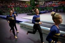Alla tre svenska lag klara för final på JEM i truppgymnastik
