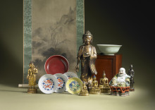 Asian Art Treasures at Auction