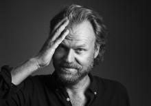 Hans Gunnarsson - en av gästerna på Bokens Dag i Lindesberg